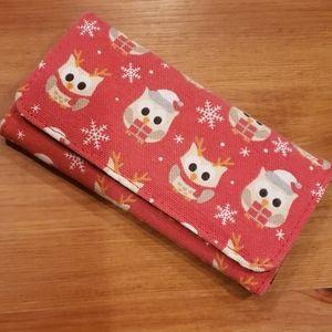 Handbags - Winter Holiday Owl Wallet